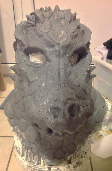modelage de masques créatures Retouchemuseau